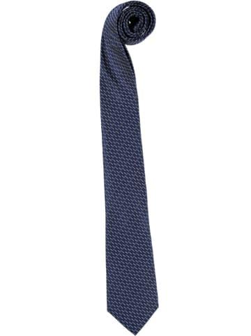 Strellson Seiden-Krawatte in Dunkelblau