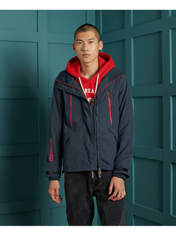 Superdry Windbreaker donkerblauw