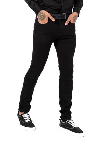 JIMMY SANDERS Spodnie w kolorze czarnym