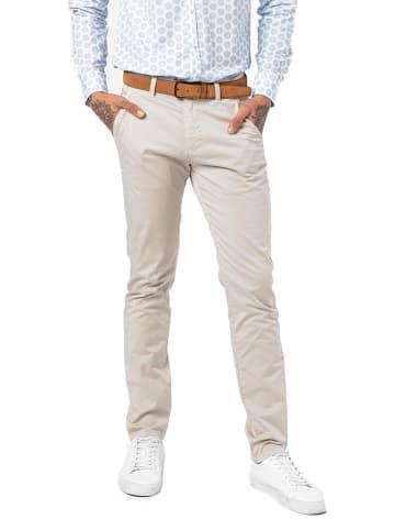JIMMY SANDERS Spodnie w kolorze beżowym