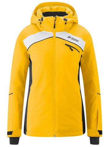 """Maier Sports Kurtka narciarska """"Romy"""" w kolorze żółtym"""