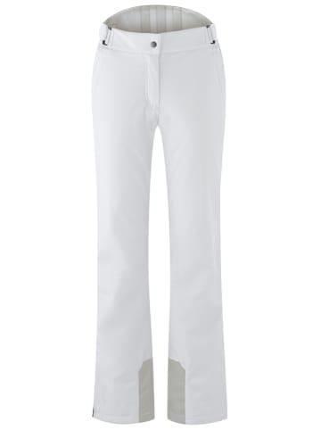 """Maier Sports Spodnie narciarskie """"Steffi"""" w kolorze białym"""