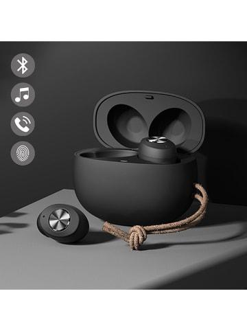 Evetane Słuchawki bezprzewodowe Bluetooth In-Ear w kolorze czarnym