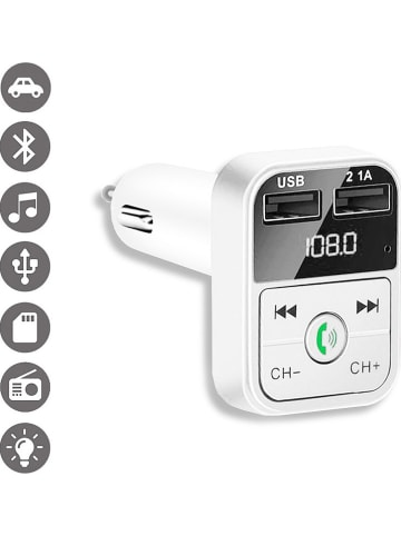 Evetane Auto-FM-transmitter wit