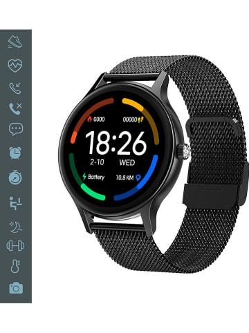 Evetane Smartwatch in Schwarz