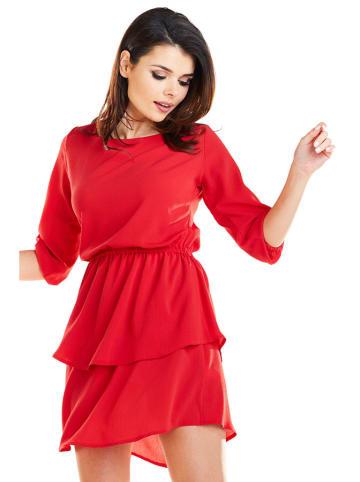 Awama Kleid in Rot