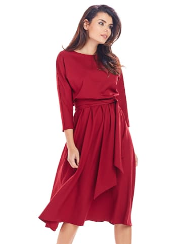 Awama Sukienka w kolorze bordowym