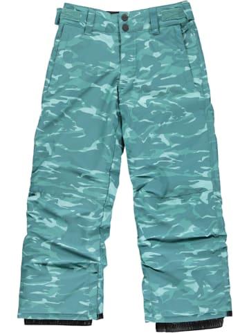 Billabong Spodnie narciarskie w kolorze turkusowym