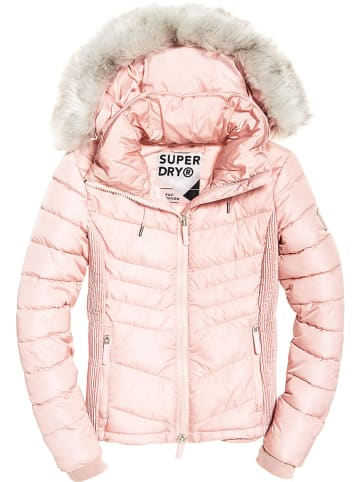Superdry Winterjas rosé