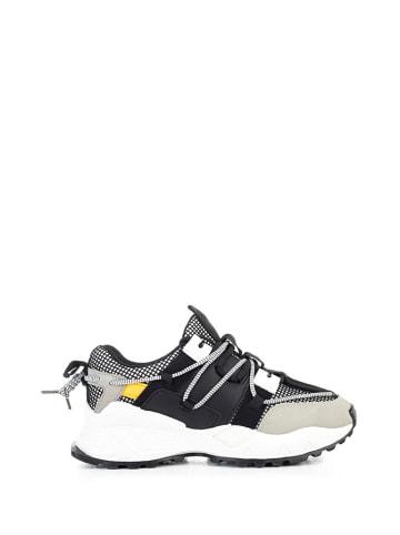 Musk Sneakersy w kolorze szaro-czarno-białym