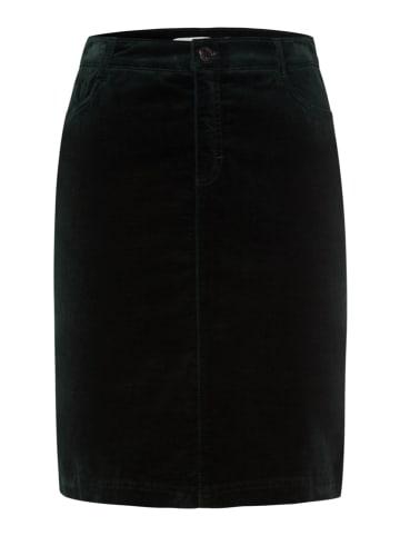 """BRAX Spódnica """"Keira"""" w kolorze ciemnozielonym"""