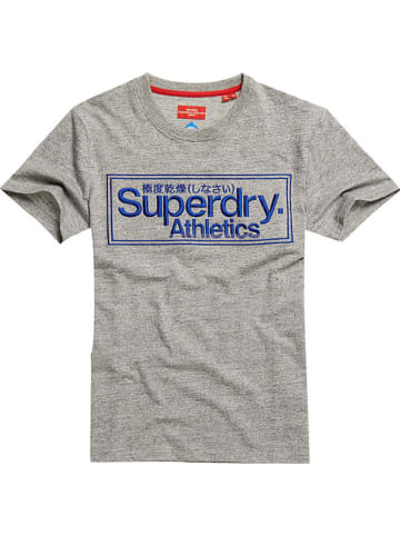 Superdry Koszulka w kolorze szarym