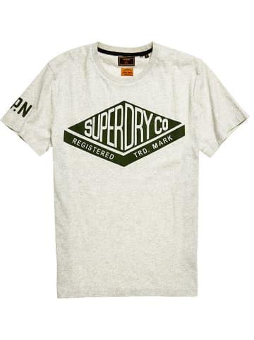 Superdry Koszulka w kolorze jasnoszarym