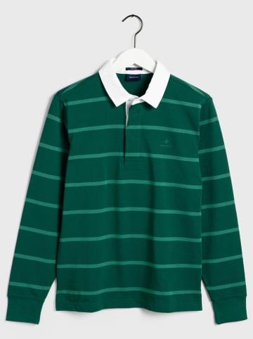 Gant Poloshirt groen/wit