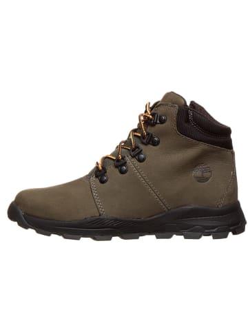 "Timberland Leren boots ""Brooklyn Hiker"" kaki"