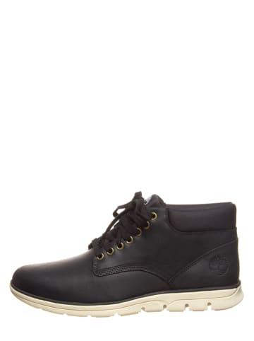 "Timberland Leder-Sneakers ""Bradstreet Chukka"" in Schwarz"