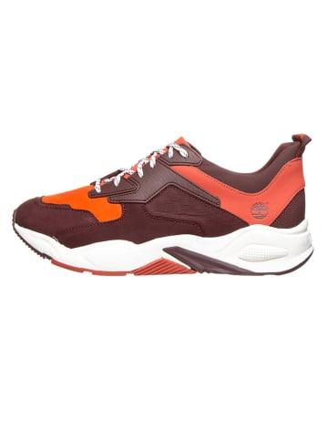 """Timberland Sneakersy """"Delphiville"""" w kolorze bordowo-czerwonym"""