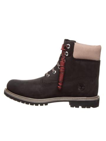 """Timberland Leder-Boots """"6in Premium"""" in Schwarz"""