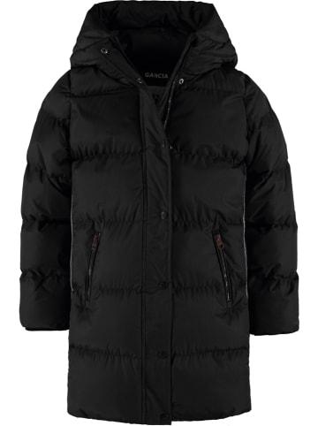 Garcia Płaszcz zimowy w kolorze czarnym