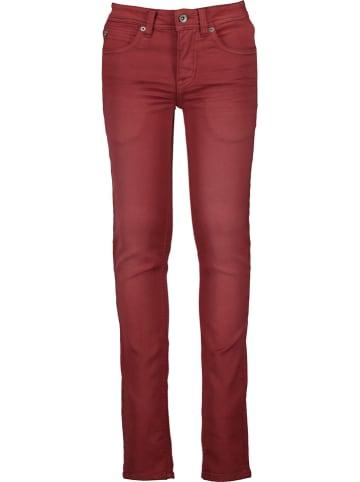 Garcia Dżinsy - Super Slim fit - w kolorze czerwonym