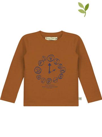 Smitten Organic Koszulka w kolorze karmelowym