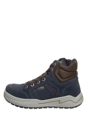 Imac Kids Sneakers donkerblauw/bruin