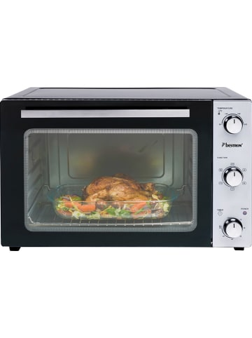 "BESTRON Mini oven ""Crispy & Co"" zwart - 45 l"