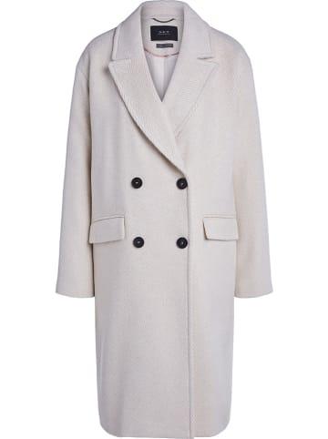 Set Płaszcz przejściowy w kolorze kremowym