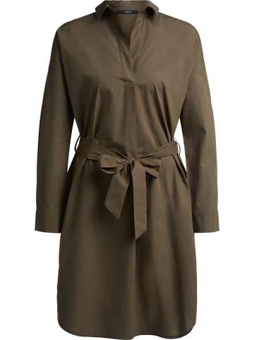 Set Sukienka w kolorze khaki