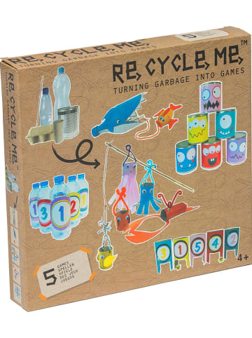 "RE CYCLE ME re-cycle-me-Bastelbox ""Games"" - ab 4 Jahren"