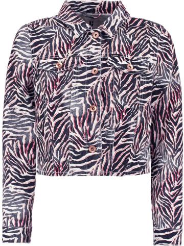 Garcia Kurtka dżinsowa w kolorze czarno-biało-różowym