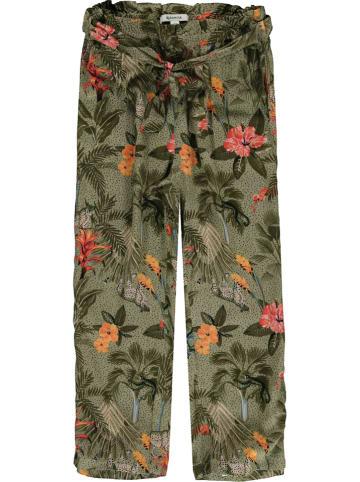 Garcia Spodnie w kolorze oliwkowo-pomarańczowym
