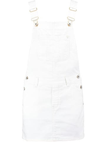 Garcia Sukienka-ogrodniczka w kolorze białym