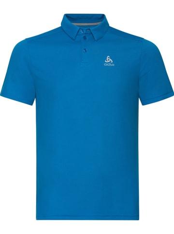 Odlo Funkcyjna koszulka polo w kolorze niebieskim