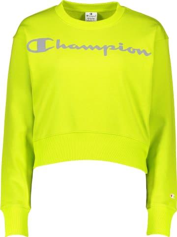 Champion Sweatshirt geel