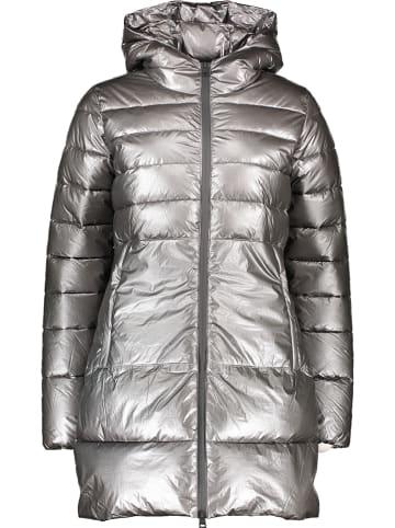 Champion Płaszcz zimowy w kolorze srebrnym
