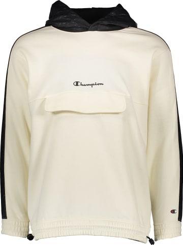 Champion Bluza w kolorze kremowo-czarnym