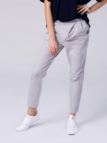 Look Made With Love Spodnie w kolorze szarym