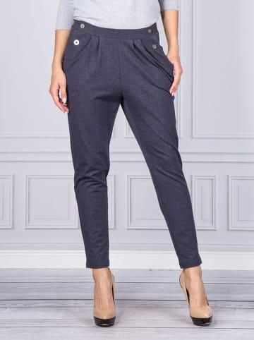Look Made With Love Spodnie w kolorze niebieskim