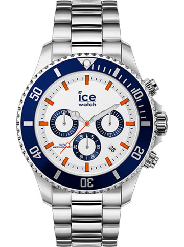 """Ice Watch Chronograph Steel"""" in Silber"""