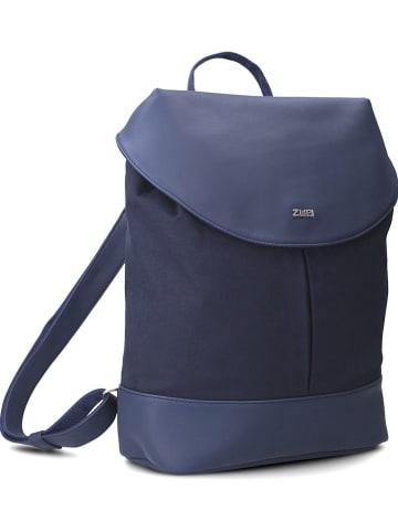 """Zwei Plecak """"Paula"""" w kolorze granatowym - 32 x 38 x 18 cm"""