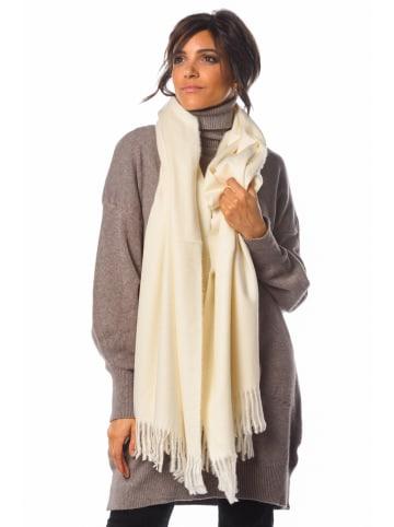 """So Cachemire Wollen sjaal """"Celia"""" crème - (L)180 x (B)75 cm"""