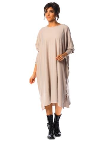 """So Cachemire Sukienka """"Sara"""" w kolorze beżowym"""