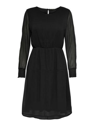"""ONLY Sukienka """"Lia Cleo"""" w kolorze czarnym"""