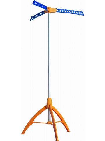 """Kitchen Move Wasrek """"Vista"""" blauw/oranje - (B)65 x (H)133 x (D)65 cm"""