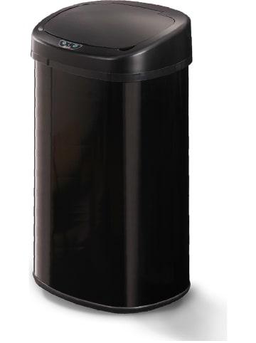 """Kitchen Move Kosz """"Majestic"""" w kolorze czarnym na śmieci z czujnikiem ruchu - 68 l"""