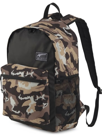 """Puma Plecak """"Academy"""" w kolorze beżowo-brązowym - 32 x 48 x 15 cm"""