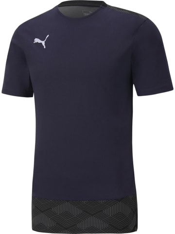 "Puma Shirt ""Team Final 21"" donkerblauw"