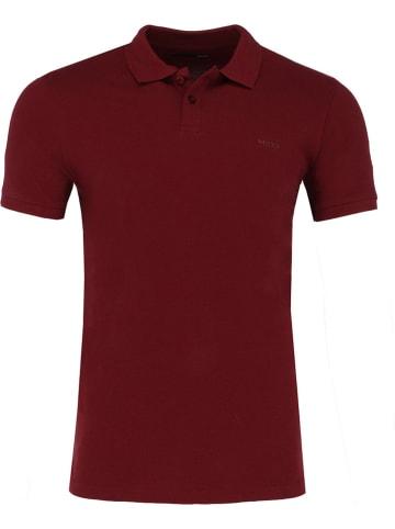 Mexx Koszulka polo w kolorze bordowym