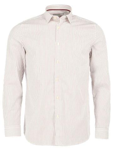 Mexx Koszula w kolorze biało-bordowym